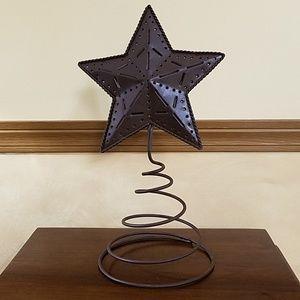 Metal Star That Looks Like a Tree Topper NWOT